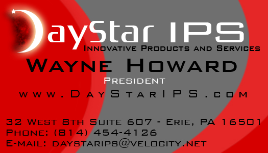 DayStar IPS Business Card