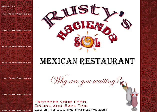 Rusty's Hacienda Placemat